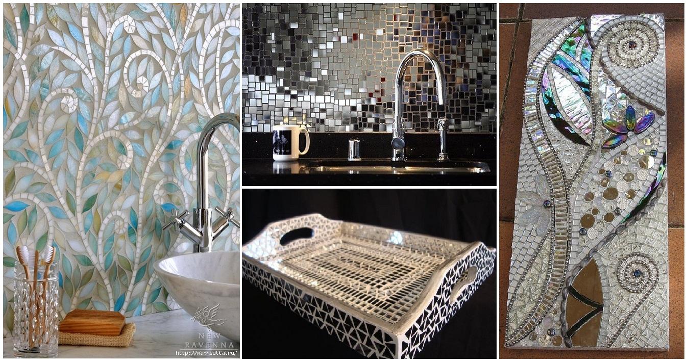 Decorare il bagno con il mosaico