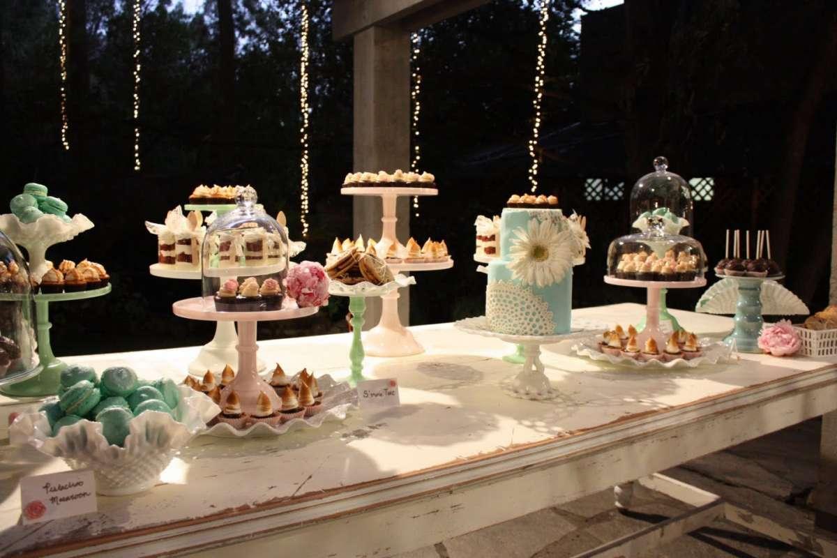 idee alzatine per la torta in un matrimonio shabby chic