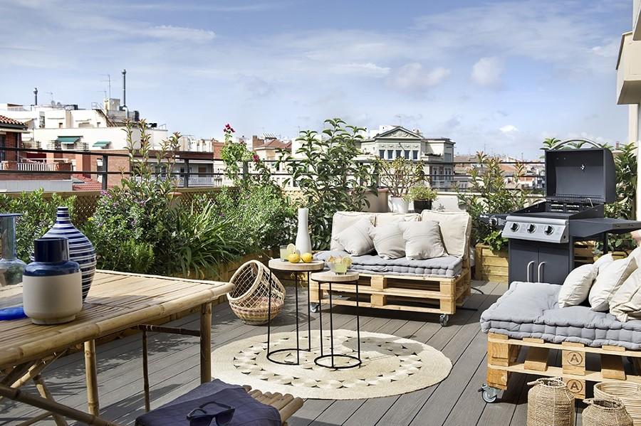 Arredare la terrazza low cost venite ad ispirarvi con for Arredare la terrazza