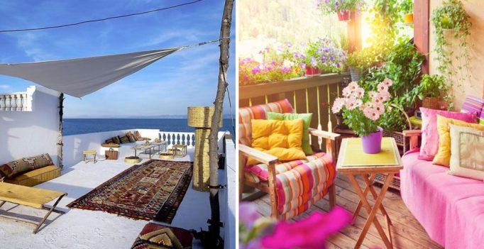 Tante idee per il giardino su ispiratevi for Arredare terrazzo low cost