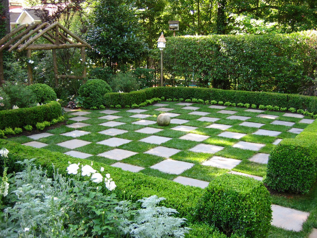 Il giardino pavimentato