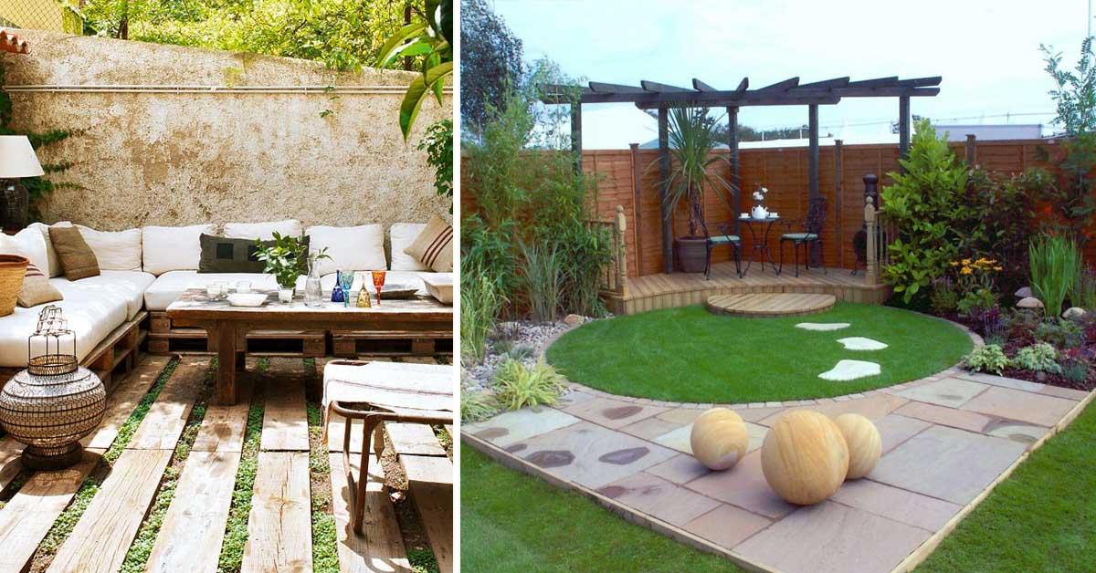 Il giardino pavimentato 15 meravigliose idee!