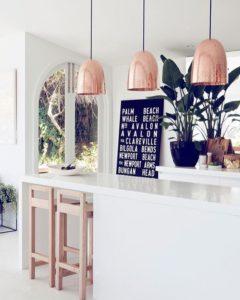 Decorare casa con oggetti in rame