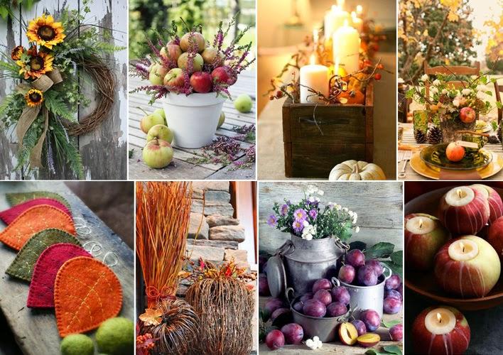 Le decorazioni fai da te per l 39 autunno 20 idee da copiare for Decorazioni per la casa fai da te