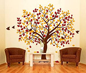 Wall art autunnale carta parati
