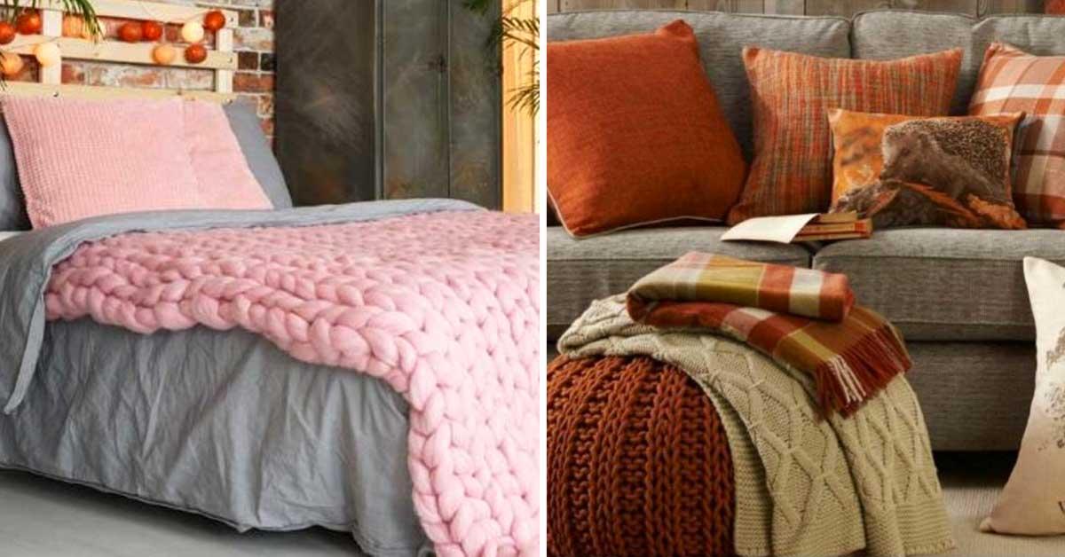 I tessuti per la casa autunnale ecco 20 idee che vi - Idea per la casa ...