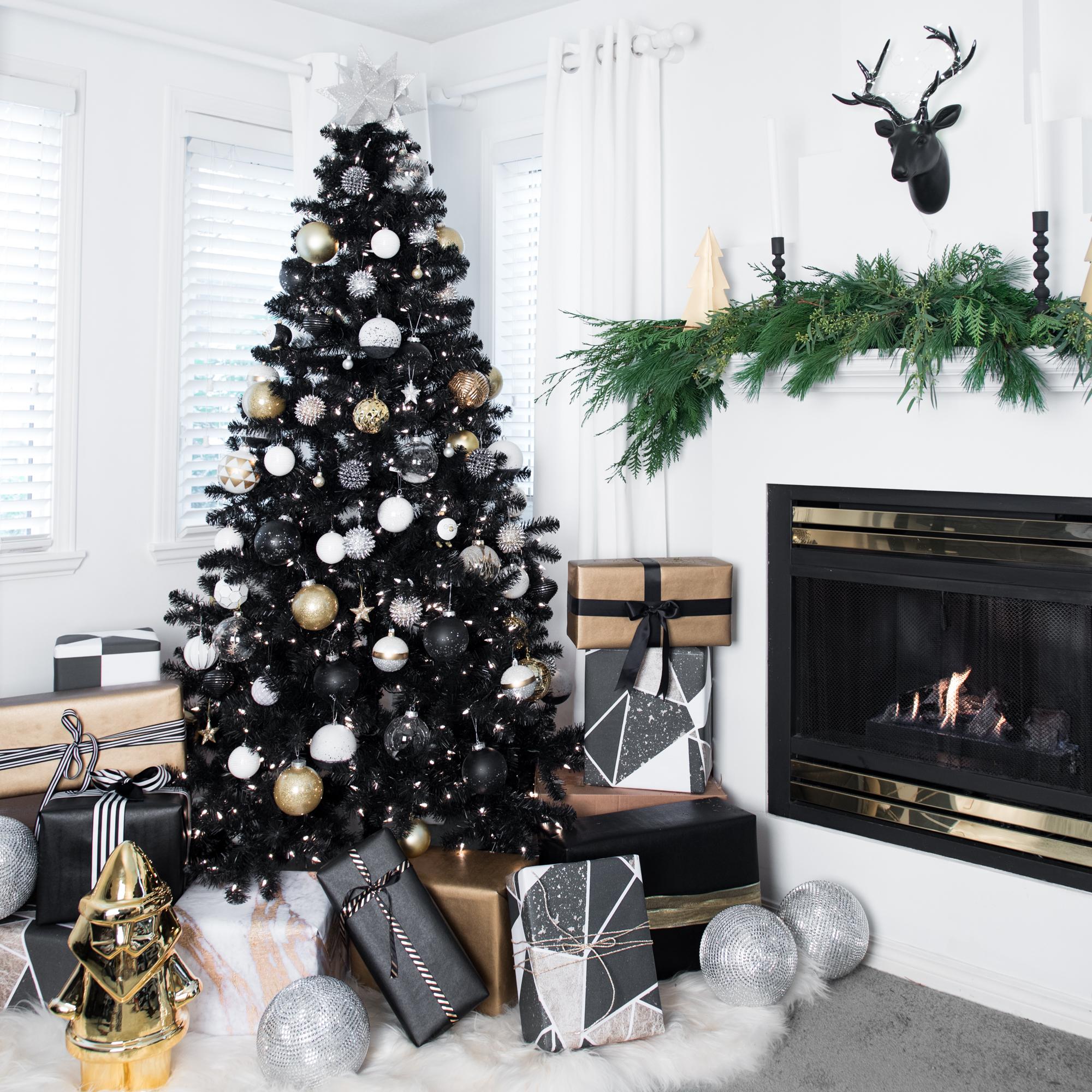 Albero Di Natale Nero.20 Decorazioni Per Un Albero Di Natale Nero Pronti Ad Osare