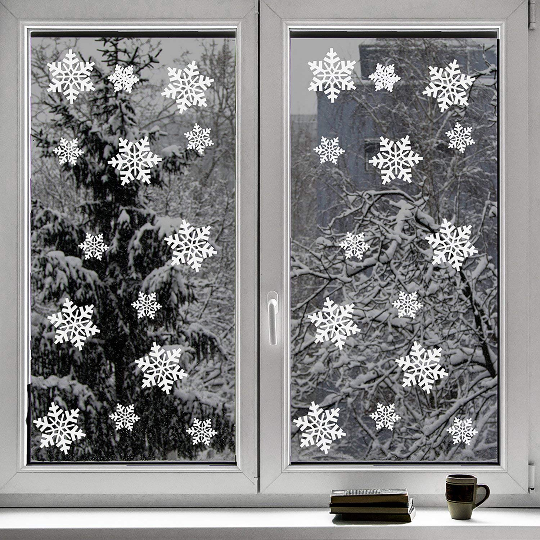 Decorazioni natalizie alle finestre 20 addobbi per sognare for Addobbi finestre natale scuola infanzia