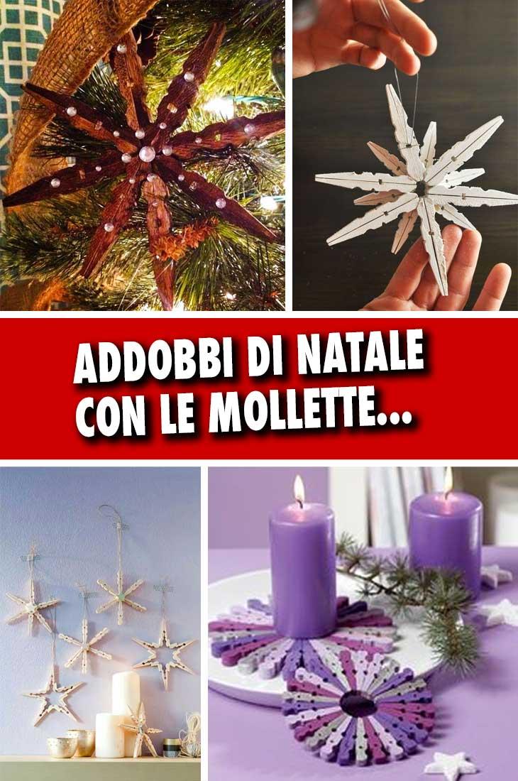 Idee Creative Per Natale creazioni natalizie fai da te con le mollette 15 idee da