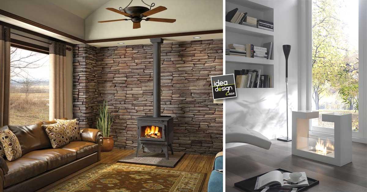 Arredare casa con la stufa 20 idee per innamorarsi for Idee per la casa arredamento