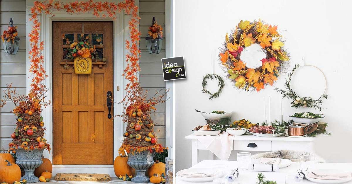 Decorazioni Autunnali Per La Casa : Ispirazioni autunnali su ideadesigncasa.org! rivesti casa con nuovi