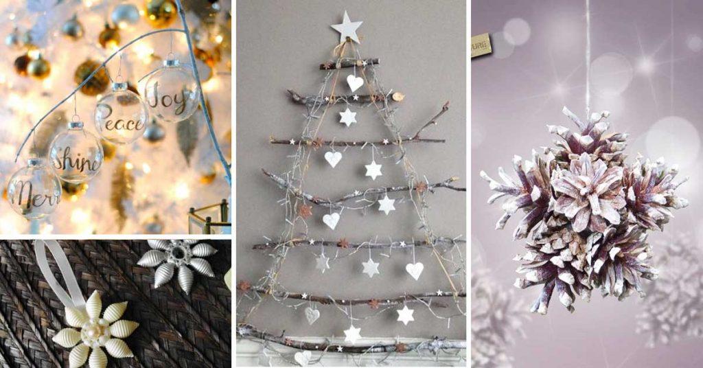Decorazioni natalizie mille idee fai da te per degli for Addobbi casa fai da te