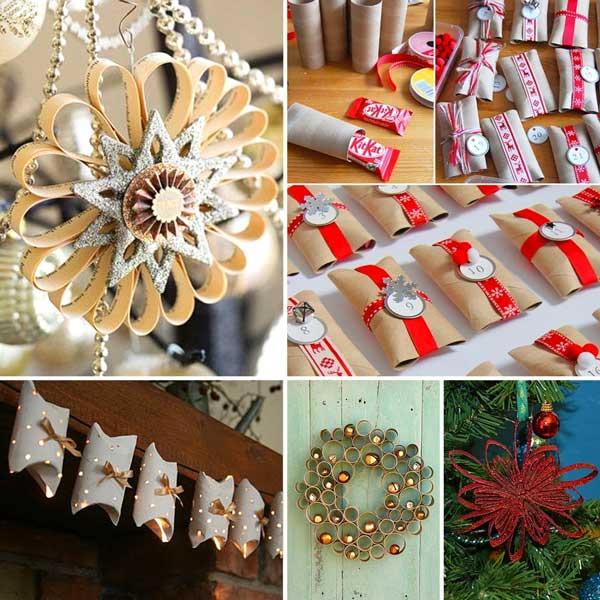 Decorazioni natalizie fai da te per una casa magnifica - Decorazioni natalizie fai da te per finestre ...