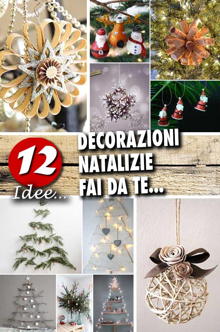 Decorazioni natalizie fai da te per una casa magnifica for Fai da te creazioni