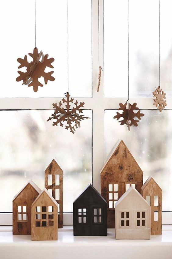 Un villaggio di Natale fai da te
