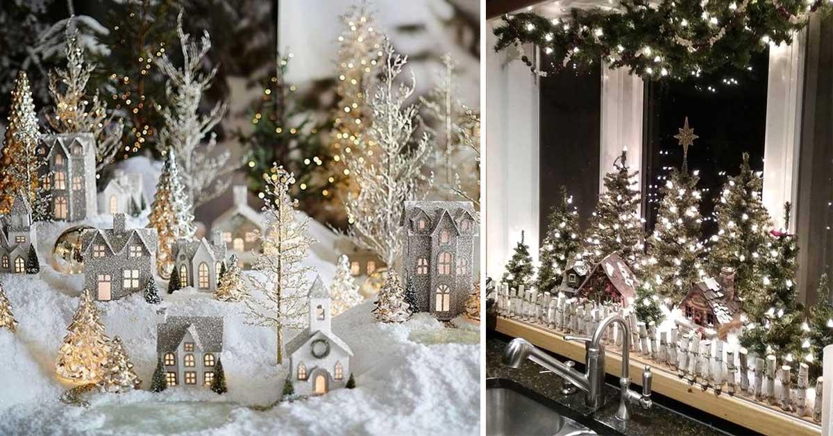 Decorazioni Luminose Natalizie Fai Da Te : Decorazioni natalizie mille idee fai da te per decorare la tua
