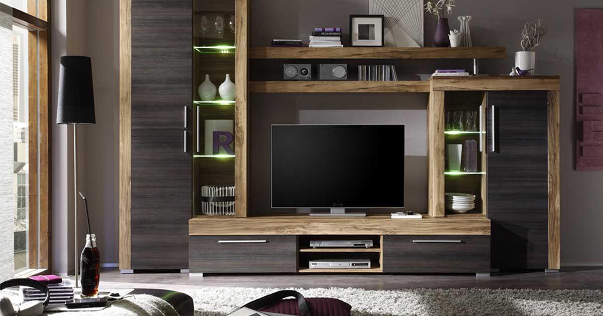 Parete attrezzata moderna: Trova quella giusta per arredare il soggiorno
