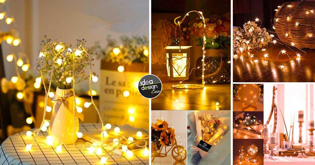 Decorazioni Luminose Natalizie.15 Decorazioni Luminose Sfiziose Da Realizzare Durante Le Feste