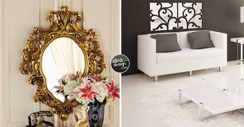 L importanza degli specchi in casa luce e magia 15 idee - Arredare con specchi ...