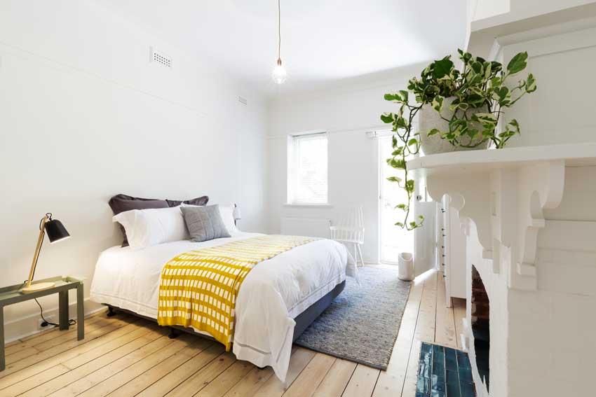 Decorare la camera da letto con le piante