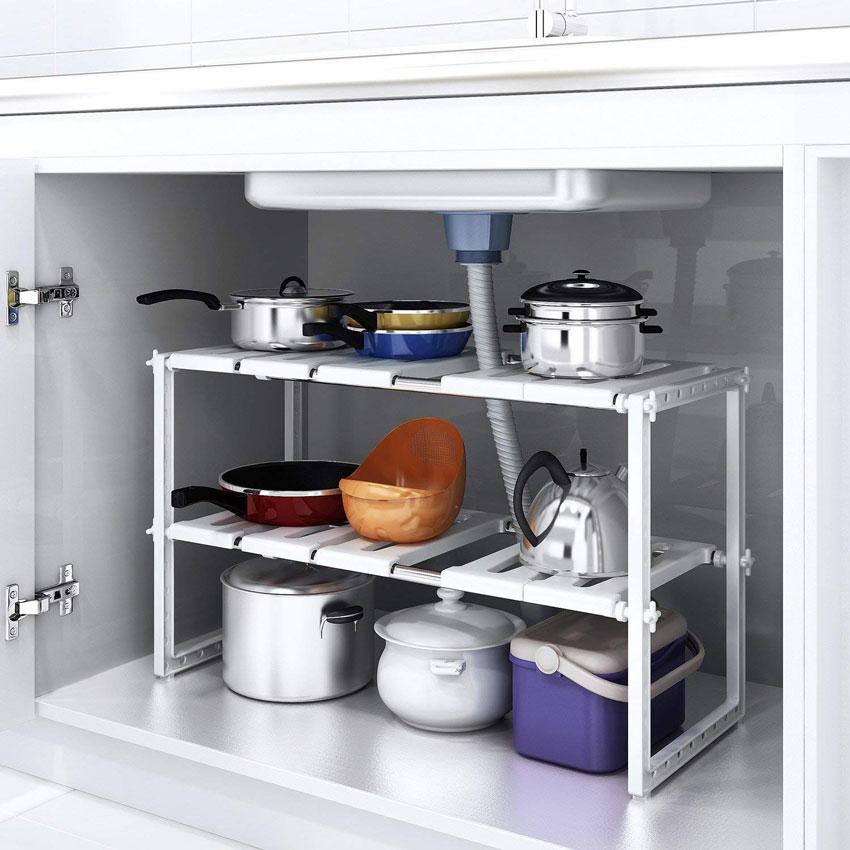 Ripiani cucina salvaspazio! 15 spunti per ottimizzare la tua cucina...