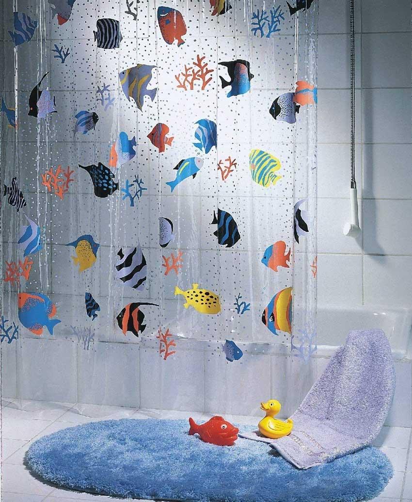 La tenda da doccia bambini