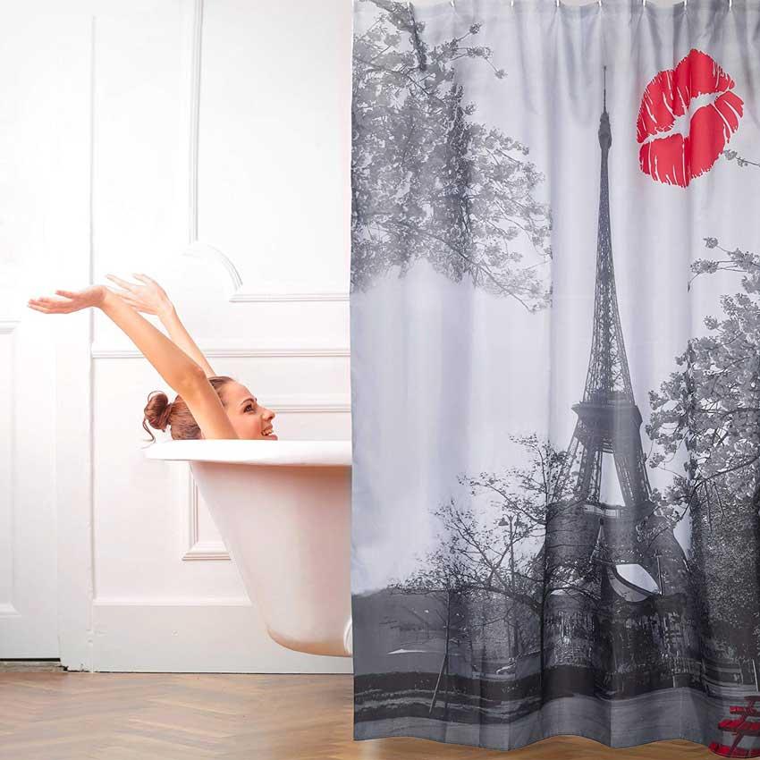 La tenda da doccia parigi