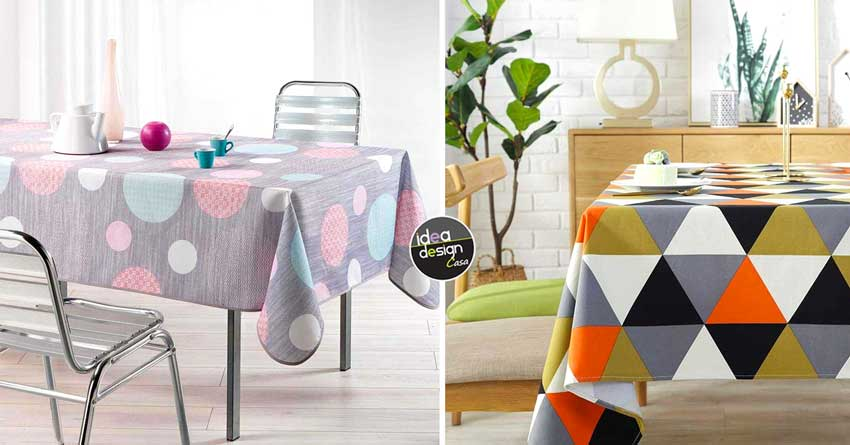 Le tovaglie da tavola allegria e colore tutti i giorni - Stoffe per tovaglie da tavola ...