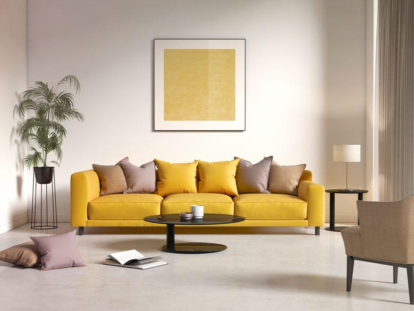 Cuscini Gialli Per Divano.Cuscini Decorativi Per Divani 15 Idee Per Valorizzare Il Salotto