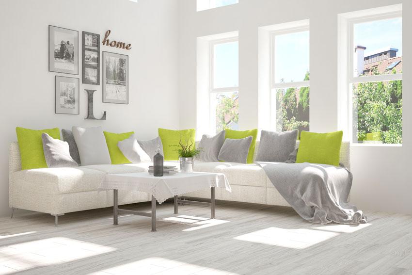 Cuscini Divano Grigio.Cuscini Decorativi Per Divani 15 Idee Per Valorizzare Il Salotto