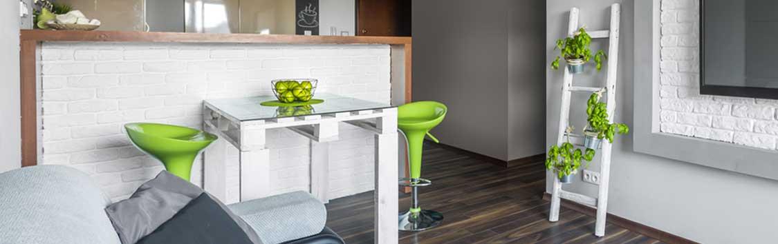 tavolo in pallet cucina