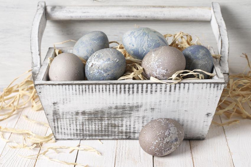 Decorazioni rustiche per Pasqua