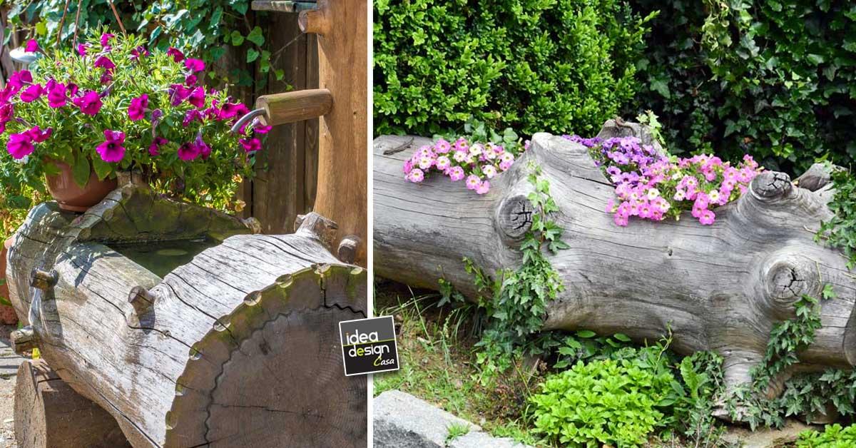 Abbellire il vecchio pozzo in giardino ecco 17 idee for Abbellire giardino