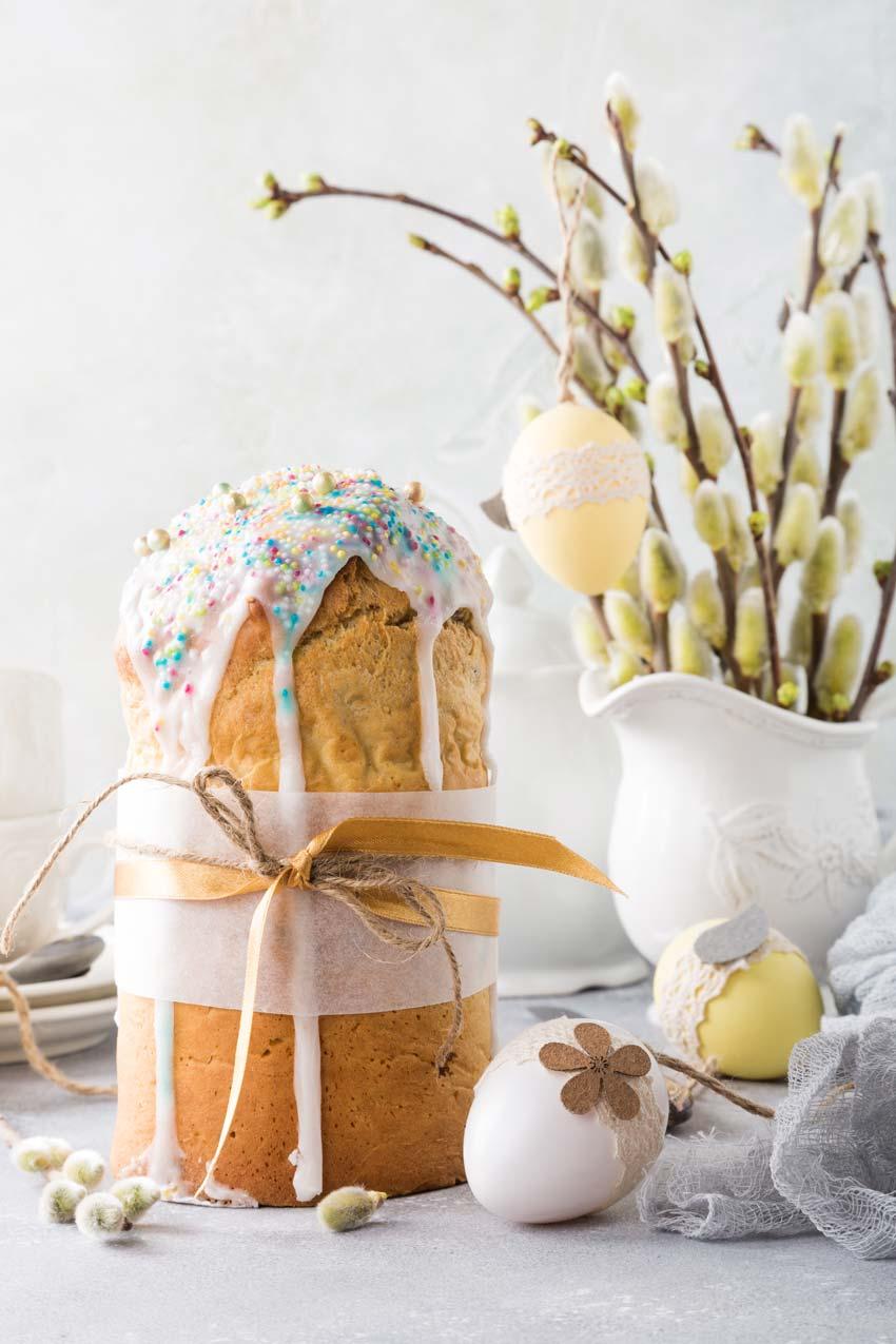 vaso fai da te per Pasqua