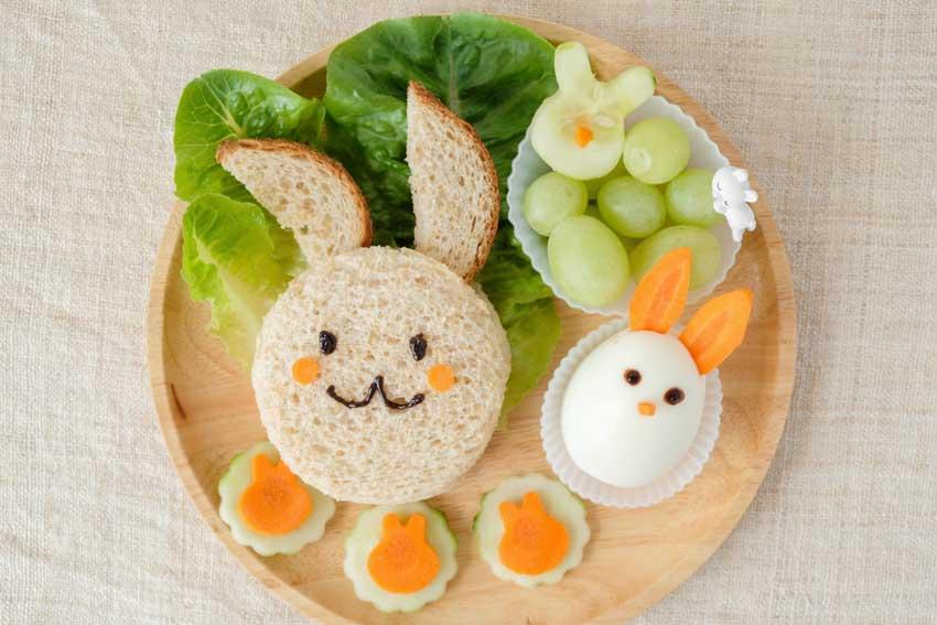 Food art per Pasqua