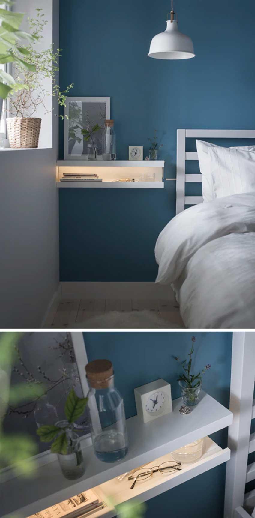 Libreria Design Camera Da Letto mensole ikea: 15 modi di utilizzarle in modo furbo per