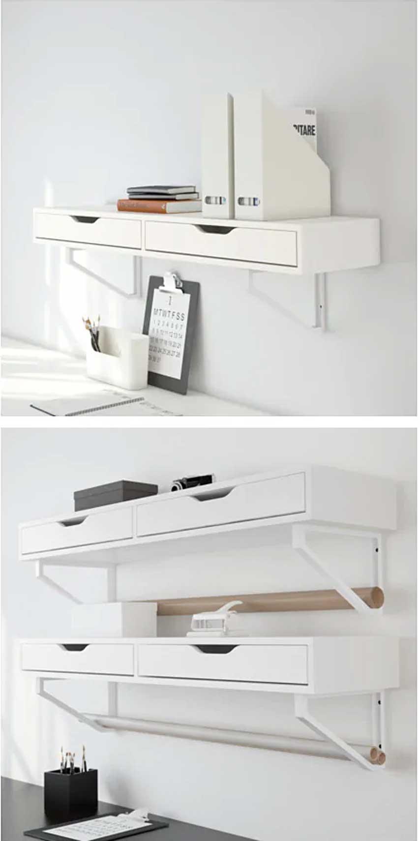 Mensole Ikea Legno.Mensole Ikea 15 Modi Di Utilizzarle In Modo Furbo Per