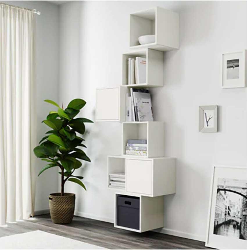 Ikea Mensole Bianche.Mensole Ikea 15 Modi Di Utilizzarle In Modo Furbo Per