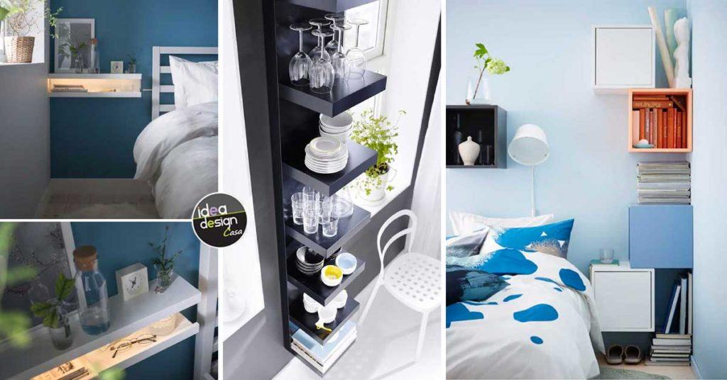 13 idee per arredare una parete con le mensole IKEA! Ispiratevi