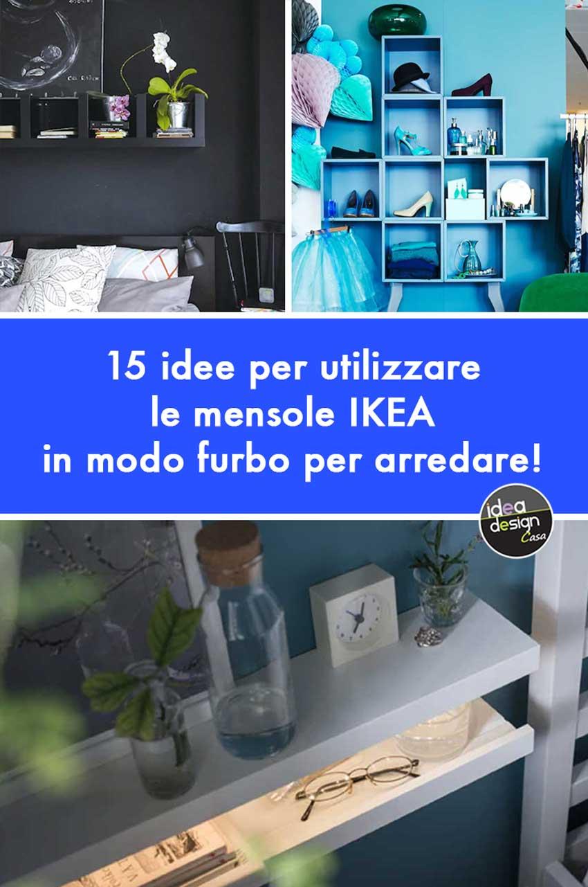 Costruire Mensole Per Libreria A Muro.Mensole Ikea 15 Modi Di Utilizzarle In Modo Furbo Per Arredare