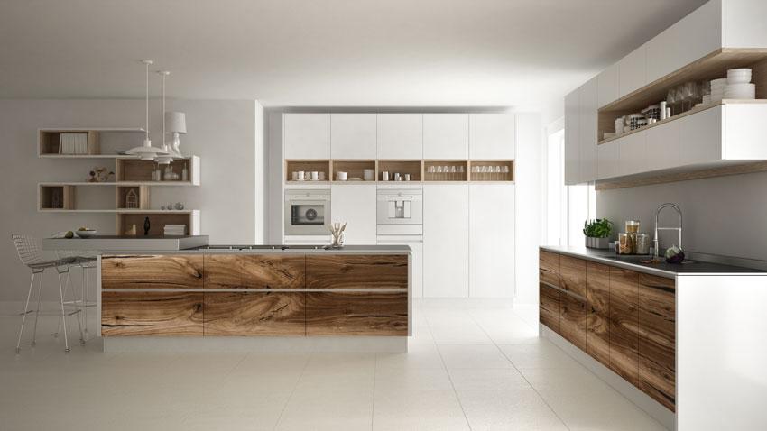 Cucine Moderne In Legno Chiaro.Cucine Moderne Piu Di 100 Foto Per Ideare La Tua Cucina
