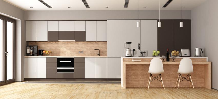 Cucina Bianca Top Grigio Chiaro.Cucine Moderne Piu Di 100 Foto Per Ideare La Tua Cucina