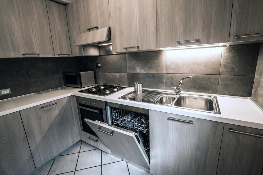 Cucine Moderne Con Cappa Ad Angolo.Cucina Con Cappa Angolare Moderna Chefs4passion