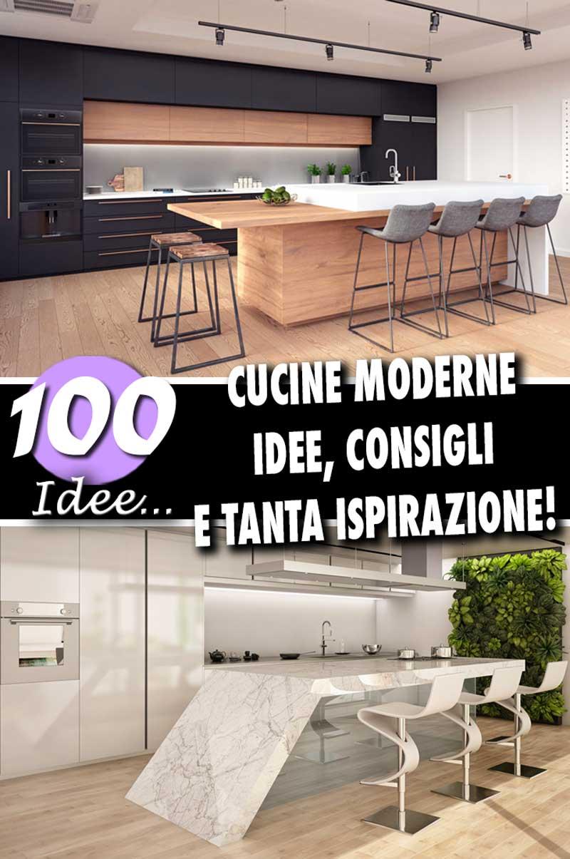 Piano Di Lavoro Cucina In Muratura.Cucine Moderne Piu Di 100 Foto Per Ideare La Tua Cucina