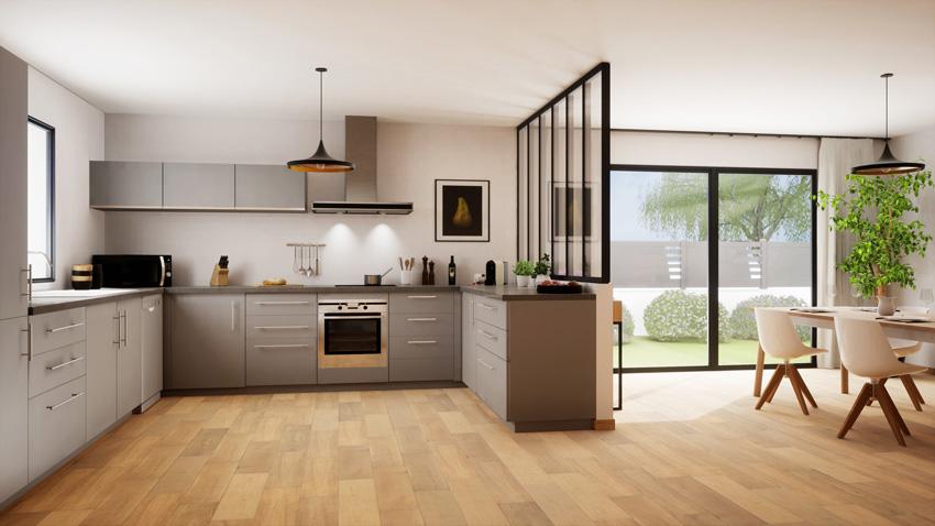Cucine Moderne Con Open Space.Cucine Moderne Piu Di 100 Foto Per Ideare La Tua Cucina