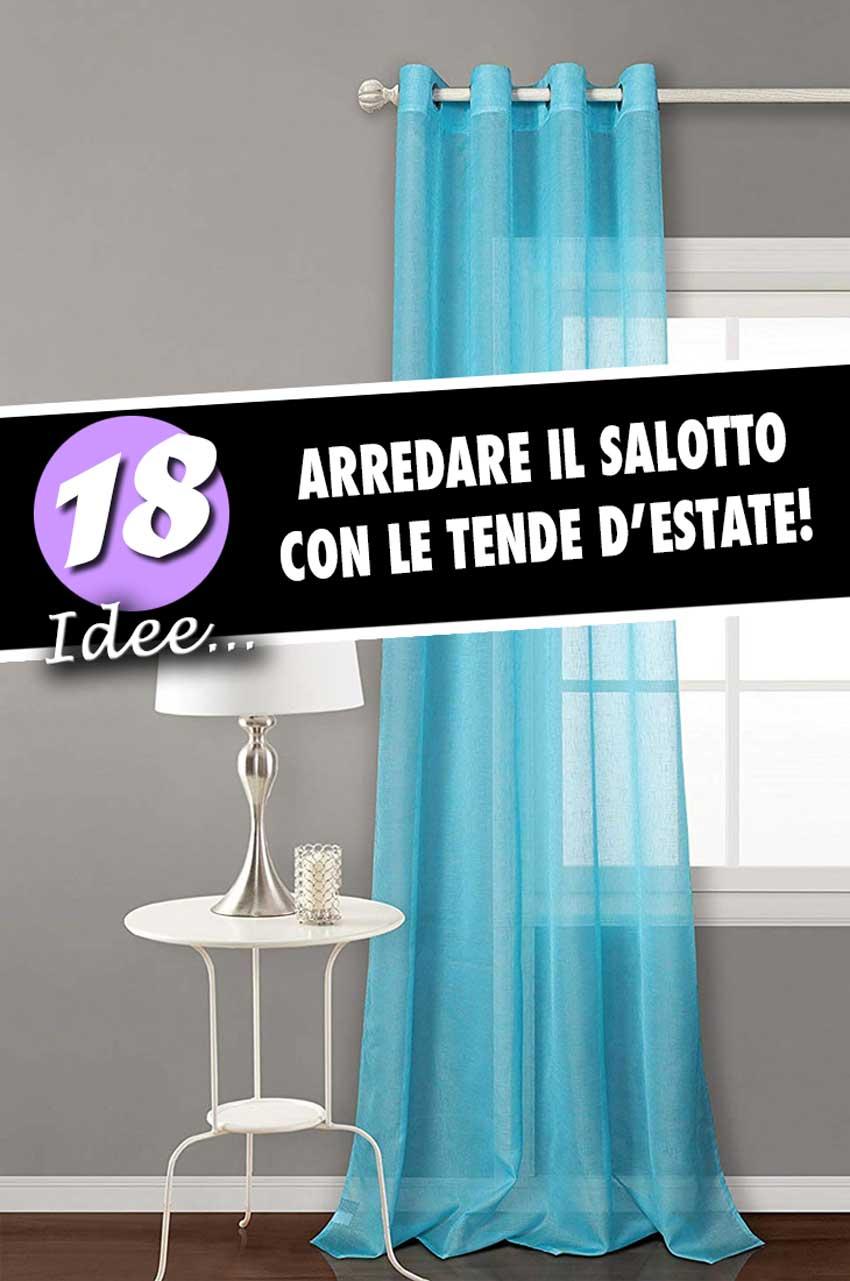 Le tende per arredare il soggiorno moderno! 18 idee stilose...