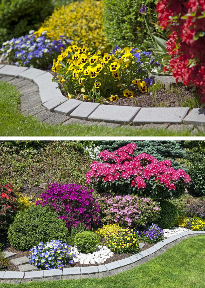 Bordure Per Giardino.20 Bordure Per Aiuole Da Copiare Per Un Giardino Magnifico