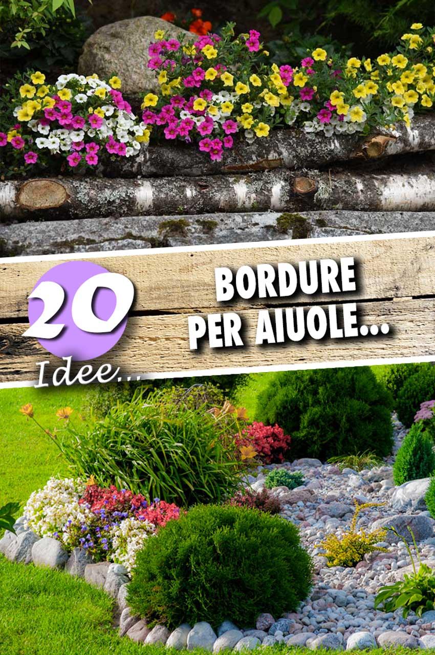 20 bordure per aiuole da copiare per un giardino magnifico for Bordure per aiuole fai da te