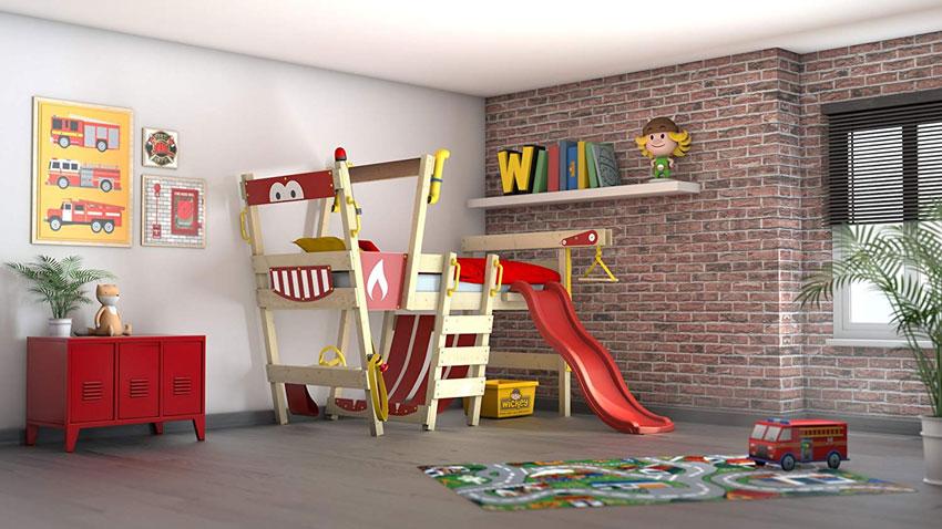 Letti A Soppalco Per Bambini Con Scivolo.80 Camerette Per Bambini Che Faranno Sognare Anche I Piu Grandi