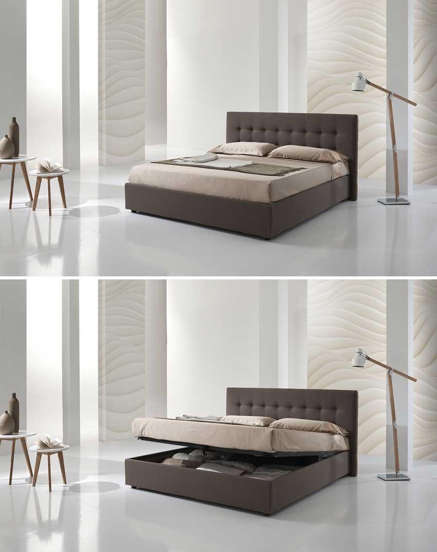 Camere da letto super moderne, pareti e illuminazione design.